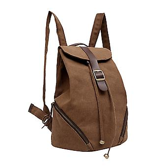 iEnjoy Brown backpack in durable fabric
