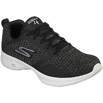 Skechers Womens Go Walk 4 Lightweight Mesh Lace Up Trainers