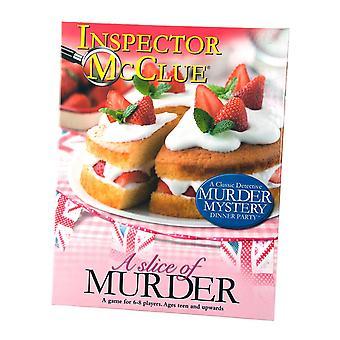 Inspector McClue Murder Mystery Game - A Slice of Murder