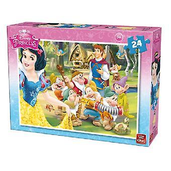 King snow white jigsaw puzzle 24pc