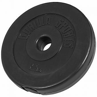 Poids disque en plastique de 2,5 kg