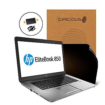 Celicious Privacy 2-Way Anti-Spy Filter Screen Protector Film Compatible with HP EliteBook 850 G2 (Touch)