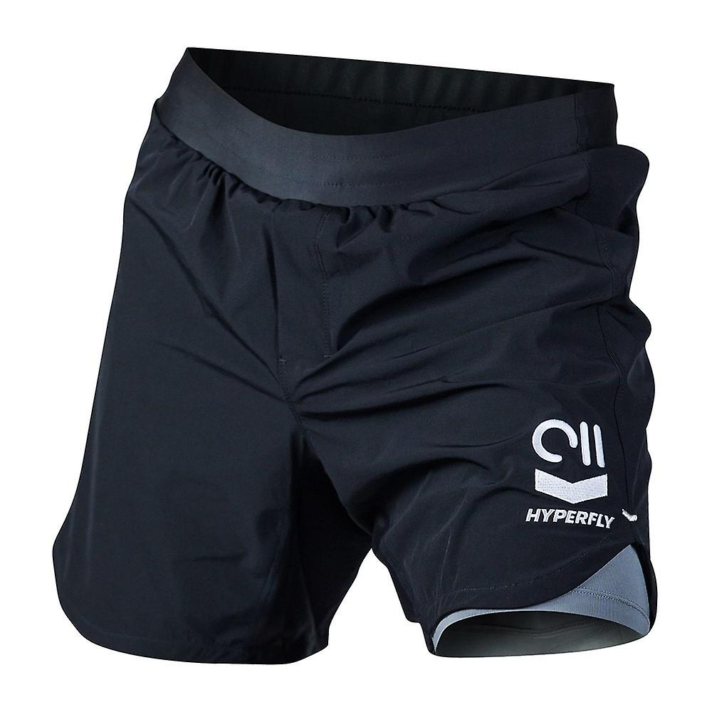 Hyperfly Icon Grappling Shorts Black