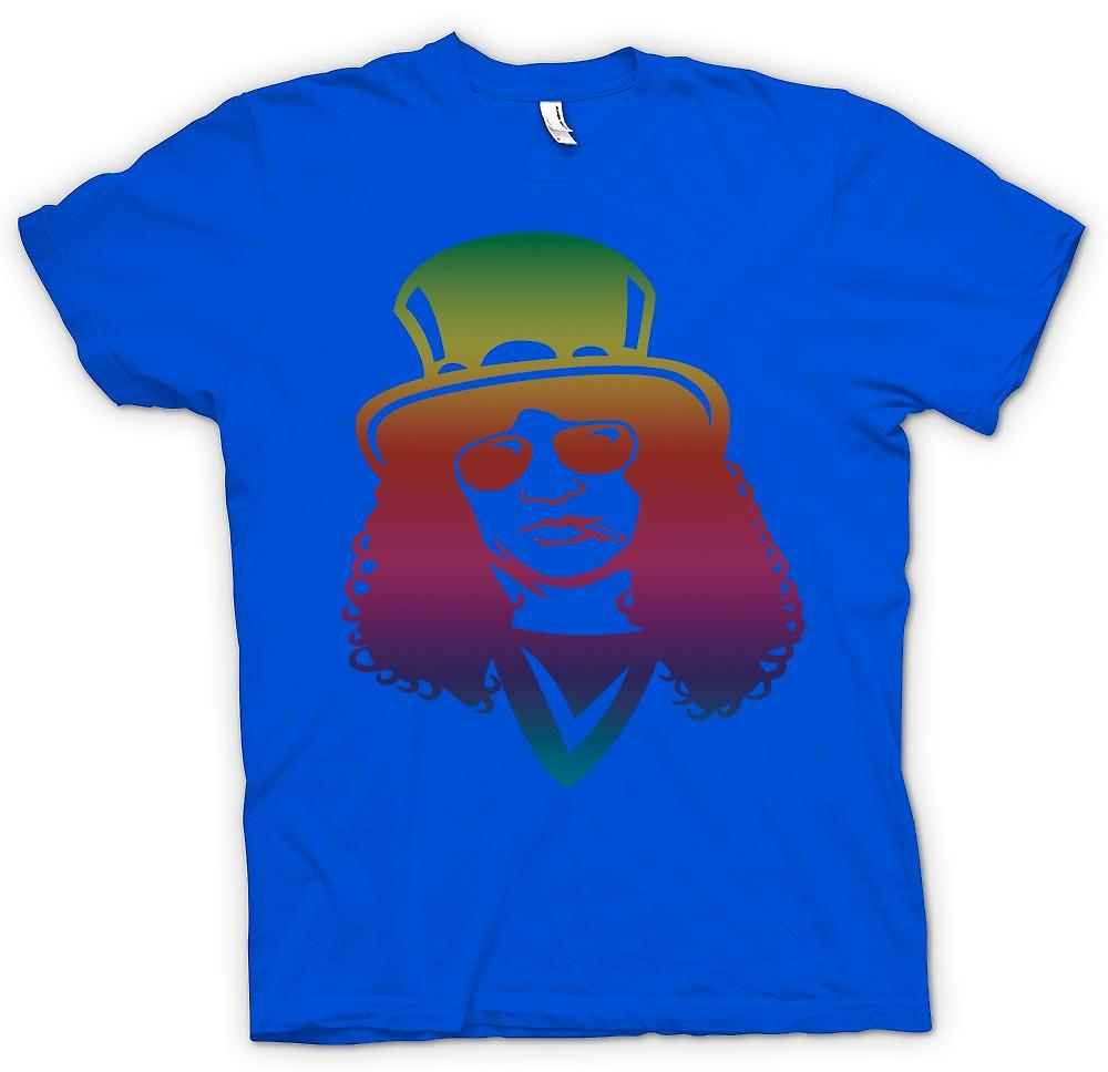 Mens T-shirt - Slash Portret - Roken