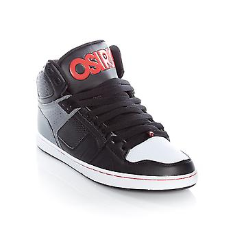Osiris Black-Grey-Red NYC83 CLK Shoe
