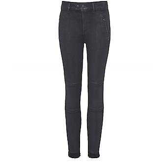 Florence Dl1961 rivestito Zip Jeans Skinny