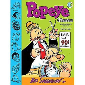 Classiques de Popeye: «Sorcière Whistle» et plus encore! (Volume 3)