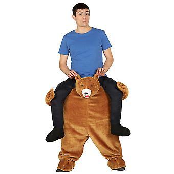 Mens Ride auf Bär Kostüm