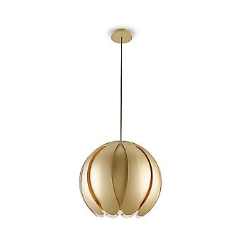 Angie Gold Painted Adjustable Pendant - Grok 00-3543-F5-F5