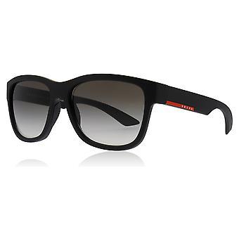 Prada Sport PS03QS DG00A7 Matte Black PS03QS Square Sunglasses Lens Category 2 Size 57mm