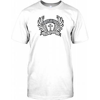 Christian Biker - jeg ri med Jesus - Kids T skjorte