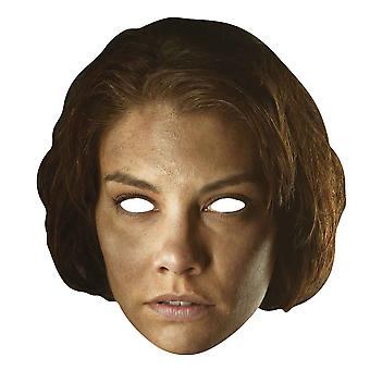 Maggie Greene Walking Dead enda kort Party ansikte Mask