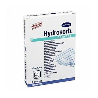 Hydrosorb コンフォート 4.5 X 6.5 Cm 5 のドレッシング