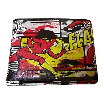The Flash Comic Style All Over Print Wallet
