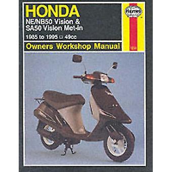 Honda NE/NB50 Vision and SA50 Vision Met-in Owner's Workshop Manual (