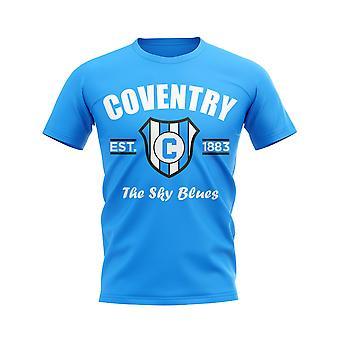 Coventry Established Football T-Shirt (Sky)