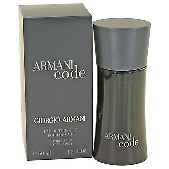 Armani Code by Giorgio Armani Eau De Toilette Spray 1.7 oz / 50 ml (Men)