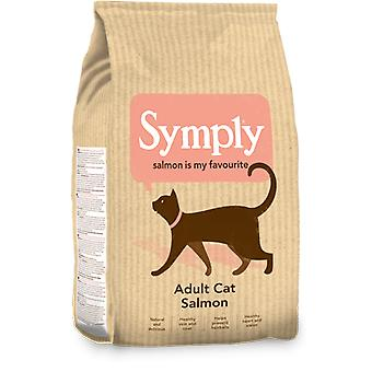 Symply Adult Cat Salmon Dry Food - 1.5kg