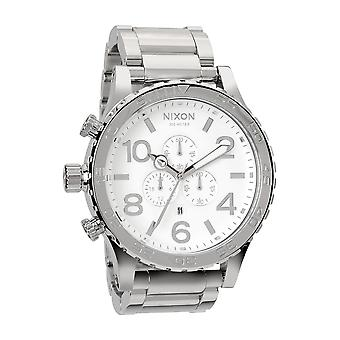 Nixon de 51-30 Chrono hoge Pools / White (A083488)
