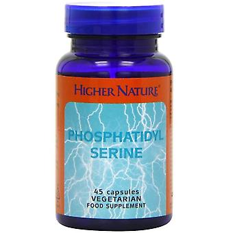 Higher Nature Phosphatidyl Serine Vegetarian Capsules 45