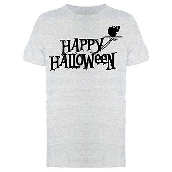 Buon Halloween Vacanze Slogan Tee Uomo's -Immagine di Shutterstock