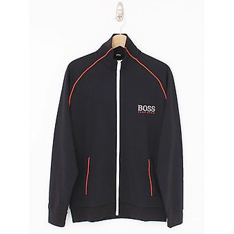 Boss Bodywear Logo Track Jacket - Black