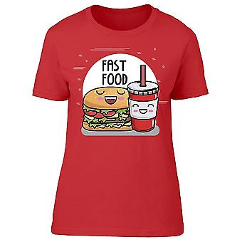 Delicious Burger With Soda Tee Women's -Image by Shutterstock