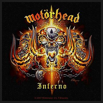 Motorhead Inferno iron-on / sew-on patch 95mm x 95mm (ro)