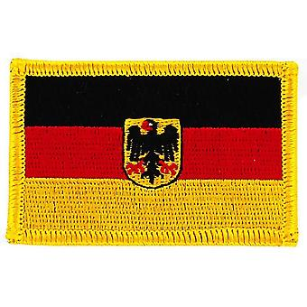 Patch Ecusson Brode Bandiera Germania Tedesco Eagle Thermocollant Insegne