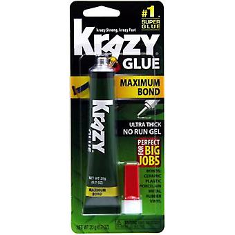 Krazy Glue(R) liaison maximale non-Run Gel - 20g KG48148