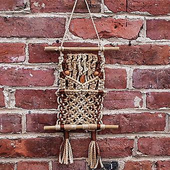 Macrame Mini Hibou naturel Kit - MMNOK