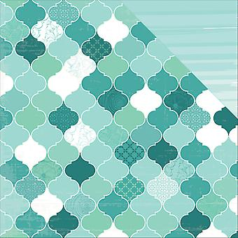 Sea Breeze doppelseitigem Cardstock 12