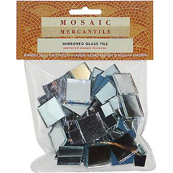 Mirrored Glass Tile 100 Pkg Square Assorted Mirsqu