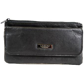 Ladies Super Soft Nappa Leather Slim Matinee Purse
