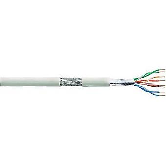 Network cable CAT 5e SF/UTP 4 x 2 x 0.205 mm² Grey LogiLink CPV0030 50 m