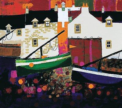 George Birrell print - Low Tide, Evening