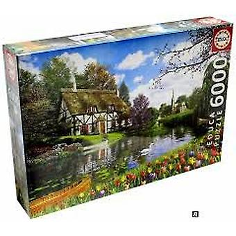 Educa Puzzle Spring On The Lake 6000 Pieces (Toys , Boardgames , Puzzles)