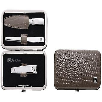 Zwilling Case With Mouthpiece, Skin Legitimate, Taupe, 3 Parts