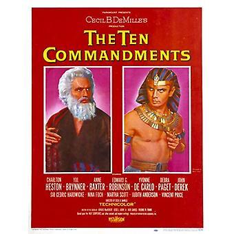 Lo diez mandamientos Movie Poster (11 x 17)