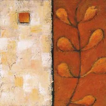 Säsonger I affisch Skriv av Ursula Salemink-Roos
