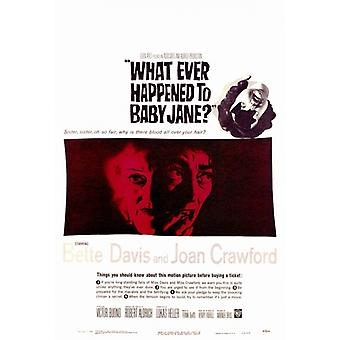 What Ever Happened to Baby Jane Movie Poster Print (27 x 40)