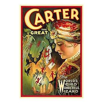 Carter the Great Movie Poster (11 x 17)