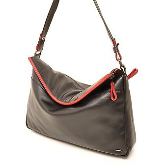 Berba Soft shoulder bag 005-693 black/red