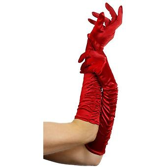 Smiffys Temptress Gloves Elbow Length Evening Wear Fancy Dress Accessory