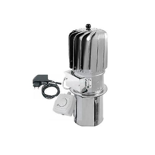 150mm Stainless Steel Turbowent Ventilation Rotating Spinning Chimney Cowl Electric Motor