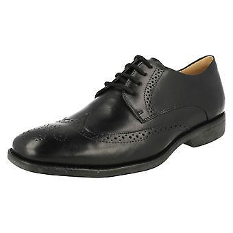 Mens Anatomic Smart Brogue Shoes Mococa