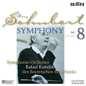 Schubert/Kubelik/Bavarian Radio Sym Orch - Sym 8 D. 944 el grande [vinilo] USA importar