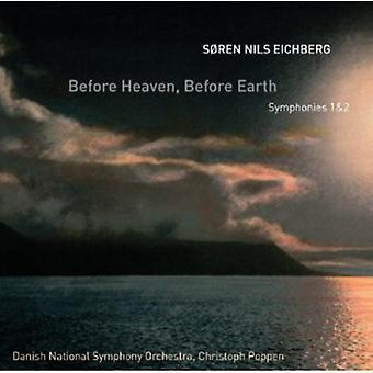 Søren Nils Eichberg - S Ren Nils Eichberg: Før himlen, før Jordens [CD] USA import