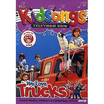 Kidsongs - vi elsker lastbiler [DVD] USA importerer