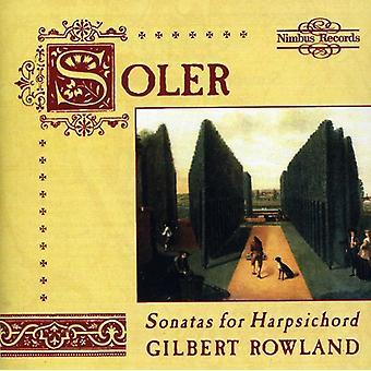 A. Soler - Soler: Sonatas for Harpsichord [CD] USA import